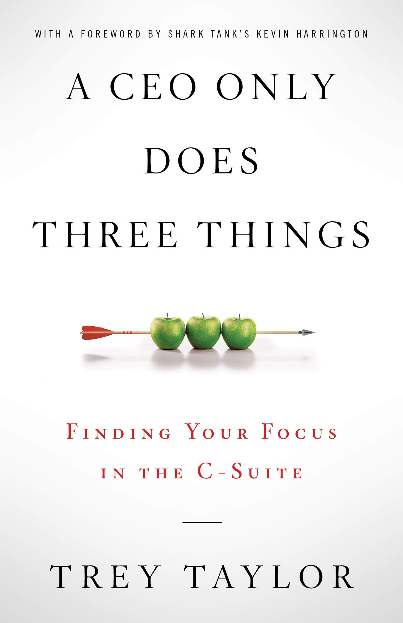 A CEO Only Does Three Things: Finding Your Focus in the C-Suite