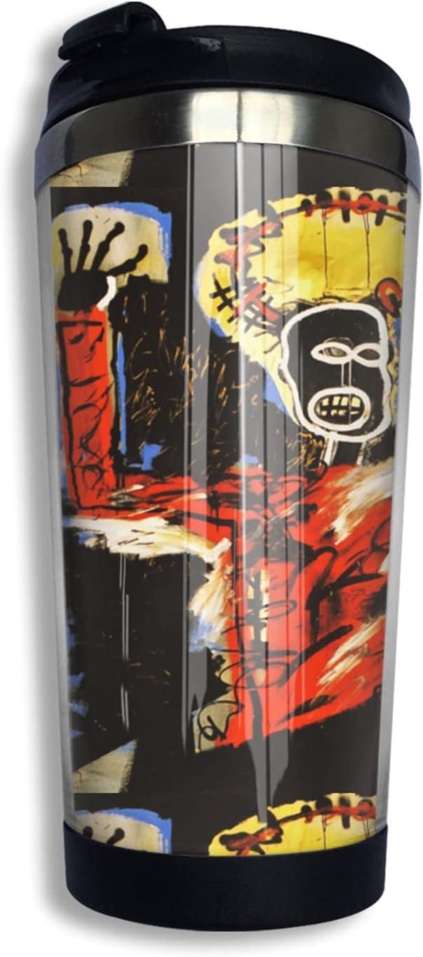 Jean-Michel Basquiat Art Stainless Tumbler Omaha San Diego Mall Mall Insulate Steel Vacuum