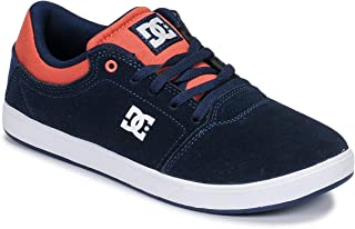 DC Boy's Crisis B Shoe Leather Sneakers
