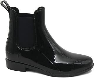 Women's Ladies Shiny Short Ankle High Rain Winter Boots Booties Slip On