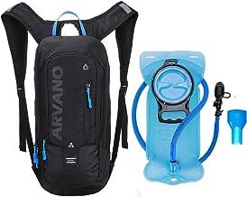 6L Mini Bicicleta mochila impermeable, paquete de hidratación con mochila 2L bolsa de agua bicicleta de esquí bolsa de esquí Biking,respirable hombro mochila ligero para los deportes al aire libre