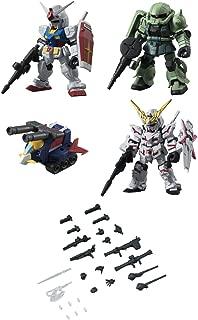 Gashapon Mobile Suit Gundam Mobile Suit Ensemble Part 01 Set