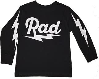 Toddler Rad Radical Lightning Bolt L/S Long Sleeve T Shirt Beach 3T 5/6T