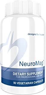 Designs for Health NeuroMag - Magnesium L-Threonate for Brain Support (90 Capsules)