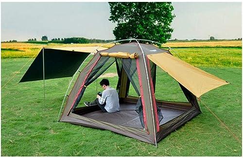 ZWYY Spacious,Anti-UVTente, 3-4 Personnes Beach Camping Festival de pêche tentes de la Famille de Grande Taille auvent aéré Anti-UV tentes (240  240  170cm),1,240  240  170cm