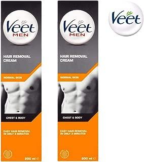 Veet Men Hair Removal Cream 200ml Pack Of 3