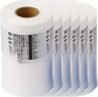 フージンエア エアー緩衝材 梱包材 ピローフィルム 200mm×100mm 長さ280m 3箱(6本) 約16800粒