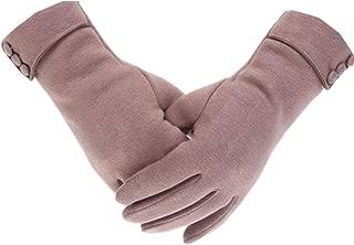 Womens Touch Screen Phone Fleece Windproof Gloves Winter Warm Wear