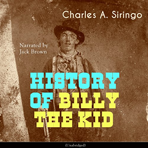 History of Billy the Kid audiobook cover art