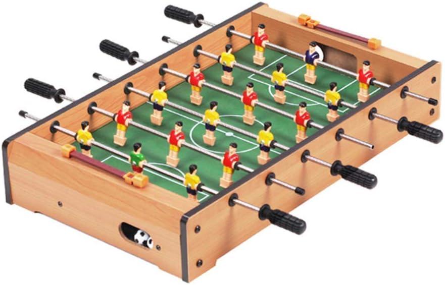 YIQIFEI Mini Mesa de futbolín para niños, futbolín portátil con Billar, Pelota de Ping Pong, Juego de fútbol de Mesa recreativo para Fam (Juguetes de Piscina)