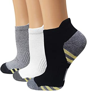 Copper Antibacterial Compression Socks for Men & Women - 5 Pairs Copper Infused Ankle Socks for Athletic&Travel