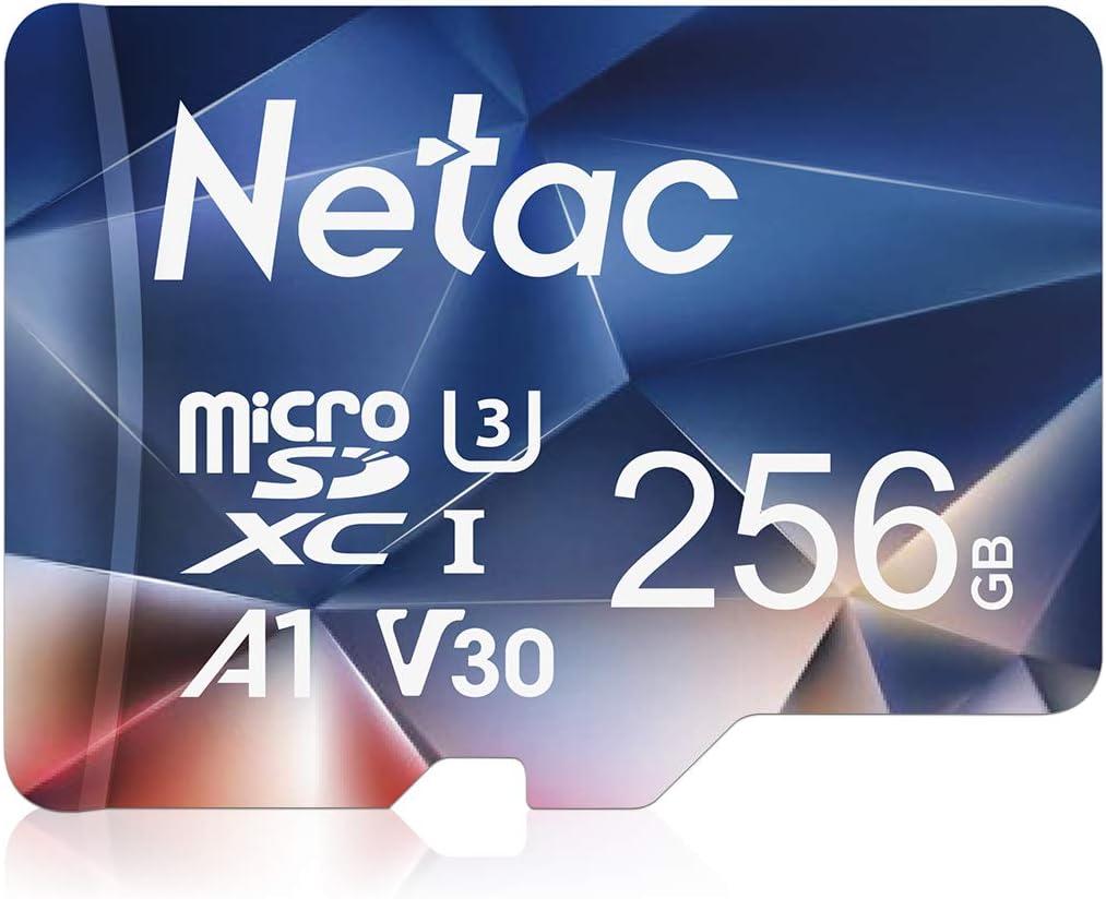 9937 opinioni per Netac Scheda Micro SD 256GB, Micro SD Card, Scheda di Memoria (A1, U3, C10, V30,