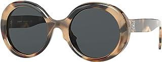 نظارات شمس بربري BE4314 350187 نظارة شمسية نسائية لون بني رمادي مقاس العدسات 52 مم