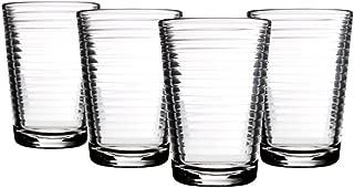 Home Essentials Solar 7oz Juice Glass, Set of 4 (WSA-068)