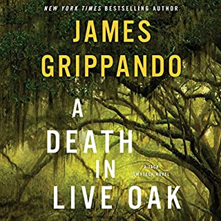 A Death in Live Oak audiobook cover art