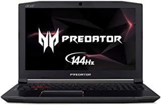 acer predator Helios 300 Gaming Laptop 2.2 GHz 256 GB 16 GB Black