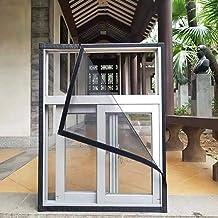 BASHI Anti-muggengaas voor ramen, praktisch anti-kras kattengaas, semi-transparant, veiligheidsraambescherming met zelfkle...