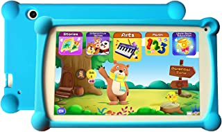 Kids Tablet, Enhance/Train Kid's Abilities and Develop Talents,120+ Educational Preloaded Apps, 7 Inch HD Display, 1+8G Android 6.0 Tablet-Blue