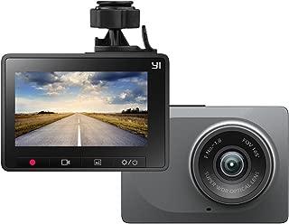 YI ドライブレコーダー ダッシュ カメラ 車載カメラ 165°広角 1080P フルHD 2.7インチ スクリーン Gセンサー搭載 diving recorder JP版 スタンド付き オリジナル正規品 グレー 89022