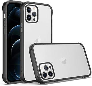 Bumper case for iPhone 12 pro 6.1'' Ultra Slim Shockproof case (Black)