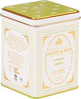 Harney & Sons Citron Green Tea, 20 Sachets, White