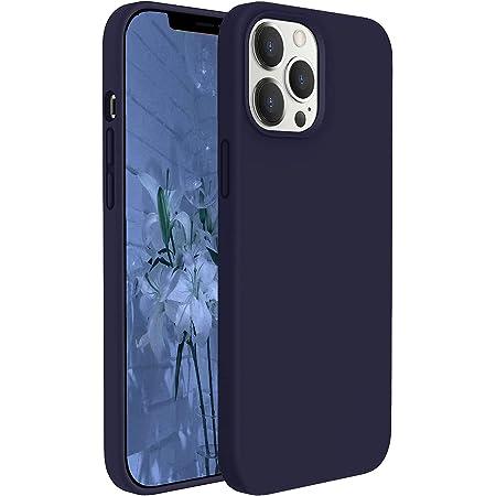 """GOODVISH Funda Silicona Case Compatible con iPhone 12/iPhone 12 Pro 6,1"""", Protección de Cuerpo Completo, Cubierta a Prueba de Golpes Antideslizante Antiamarilleo y Rayado (Azul Marino)"""