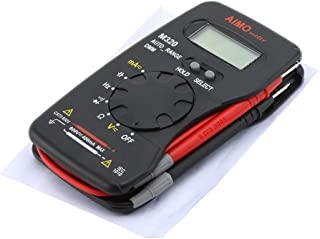 M320 bolso tamanho portátil LCD Digital multímetro DMM capacitância medida dados Hold Auto escala de freqüência
