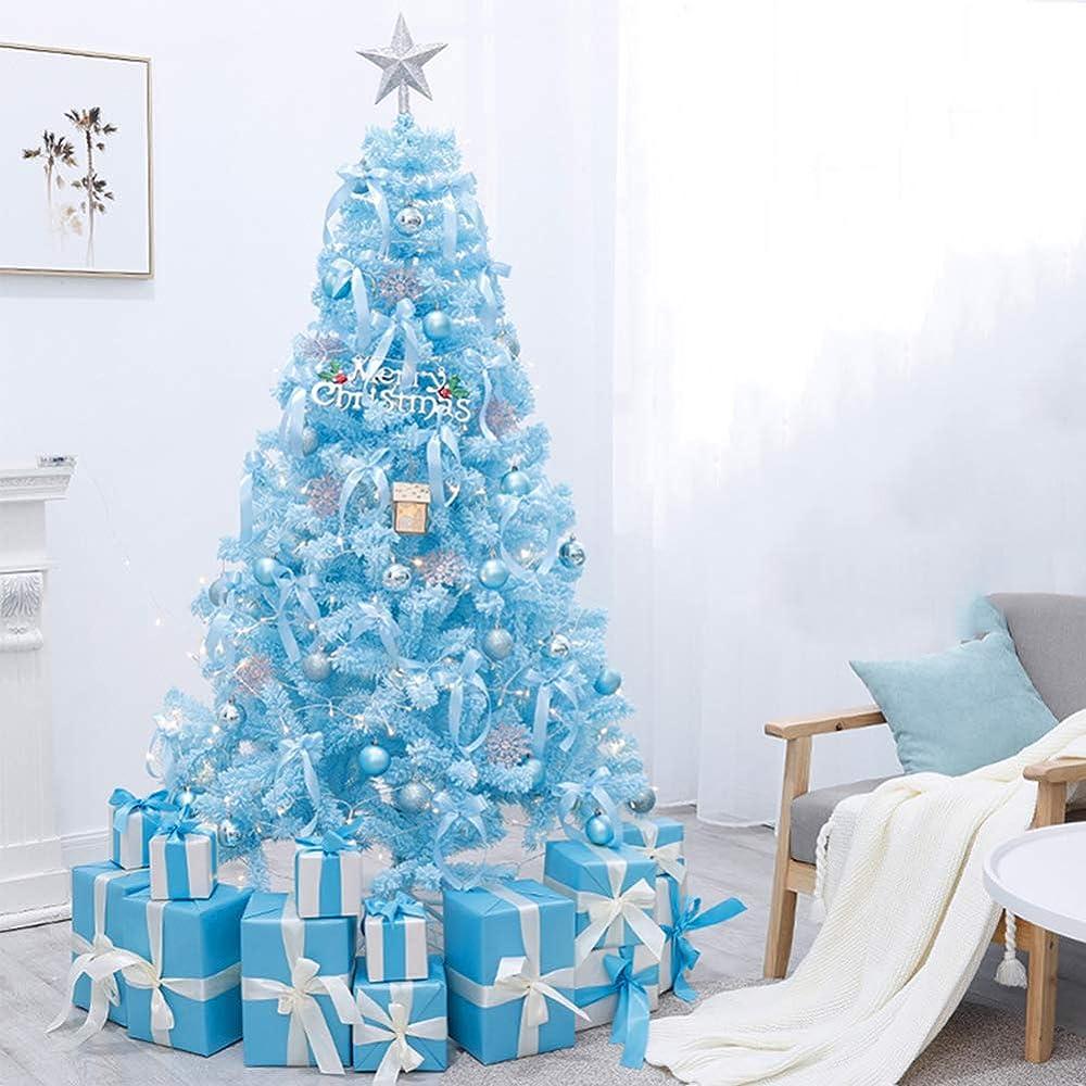 Greaty albero di natale blu con luci a led 151-648-570