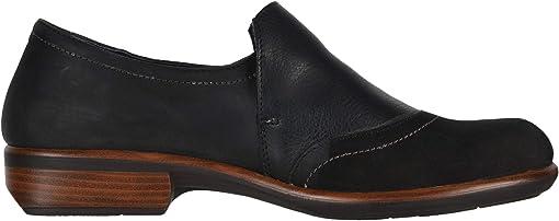 Black Velvet Nubuck/Metallic Leather/Black Suede/Black Leather