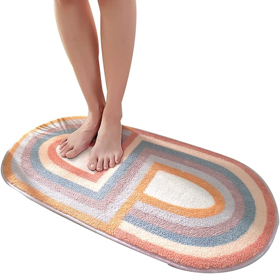 The Bathroom Carpet Daily bargain sale Excellence is Made of Soft Super Fiber and Non-Slip