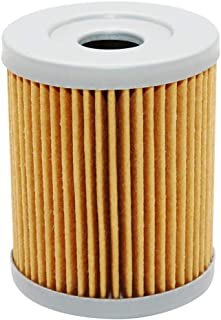 Yerbay Motorcycle Oil Filter for Yamaha CP250 Morphous 2006-2008 / YP250G Grand Majesty 250 2004-2007 / YP400 Majesty 400 2004-2014