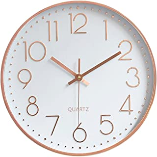 Best quartz rose gold clock Reviews