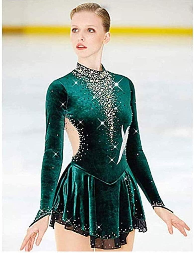 SHANGN Skating Shipping included Dress Women's Girls' 5 ☆ popular Training Competition