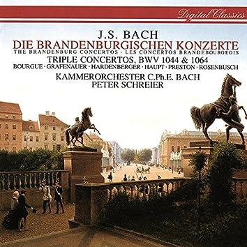 Bach, J.S.: Brandenburg Concertos Nos. 1-6; Concerto For 3 Violins; Concerto For Flute & Violin