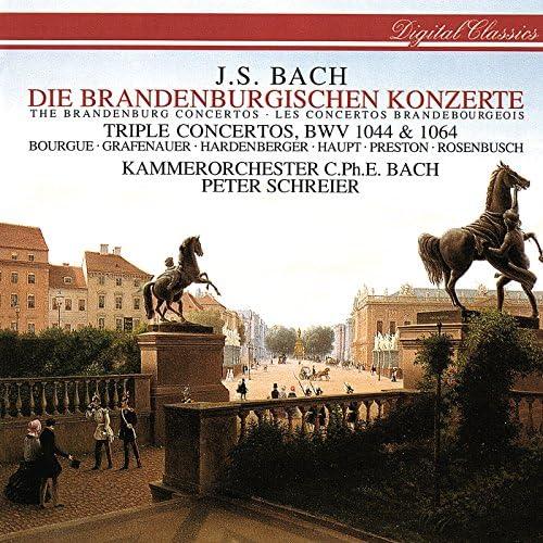 Peter Schreier & Kammerorchester Carl Philipp Emanuel Bach