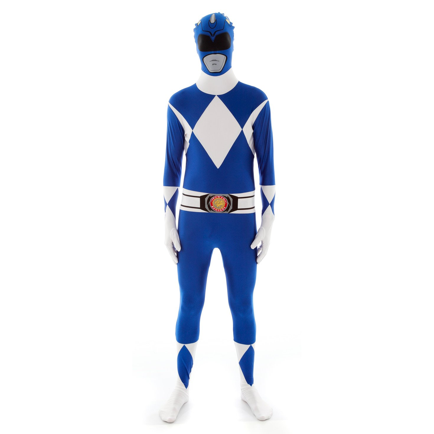 Official Power Ranger Morphsuit Costume,Black,X-Small 4-46 122cm - 137cm