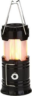 LEDランタン 電球色/昼光色の調色 折り畳み式 3つモード機能 雰囲気作り テントライト 携帯型 防災対策 登山 夜釣り ハイキング アウトドア キャンプ用 黒