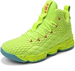 001e707b65d0 CocoBeen Mens Womens High Top Basketball Shoes Plus Size Lace Up Cushioning  Shockproof Couple Athletic Outdoor