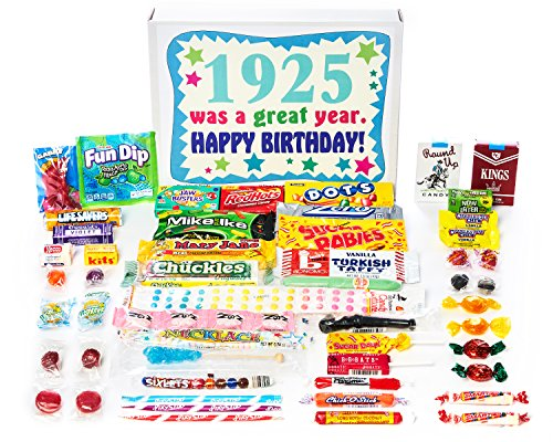 1925 Was a Great Year Retro Candy Gift Basket