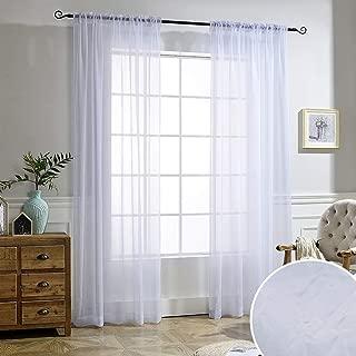 Best crinkle curtain panels Reviews