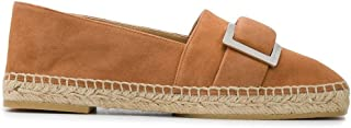 Luxury Fashion | Sergio Rossi Women A88830MCAZ012222 Brown Suede Loafers | Spring-summer 20
