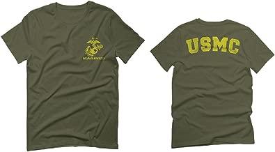 Marines Marine Corps USMC Logo Seal United States America USA American for Men T Shirt
