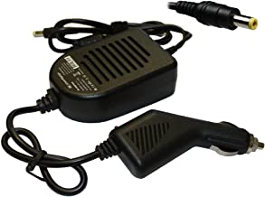 Power4Laptops Car Charger for Packard Bell EasyNote TSX66HR-252GE, Packard Bell EasyNote TV11, Packard Bell EasyNote TV11H...