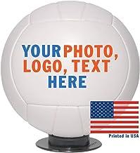 شخصی والیبال با اندازه کامل سفارشی - حمل و نقل در 3 روز Biz ، عکس با وضوح بالا ، آرم و متن در توپ های والیبال - برای بازیکنان ، غنائم ، جوایز MVP ، مربیان ، هدایای شخصی