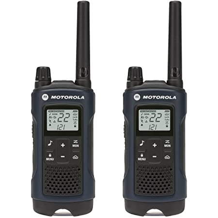 MOTOROLA SOLUTIONS Talkabout T460 Rechargeable Two-Way Radio Pair (Dark Blue)
