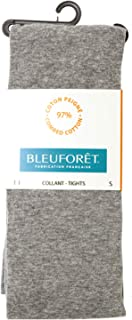 BLEU FORET【ブルーフォレ】 タイツ COLLANT VELOUTE 3000 (S, DL5/Gris clair) [並行輸入品]