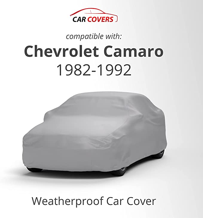 CHEVY CAMARO IROC Z28 1982-1992 CAR COVER 100/% Waterproof 100/% Breathable