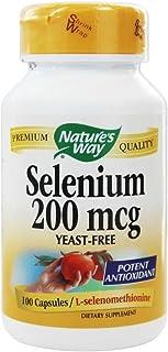 Nature'S Way - Selenium 200 Mcg. 100 Capsules