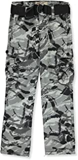 GS-115 Boys' Camo Twill Belted Cargo Pants