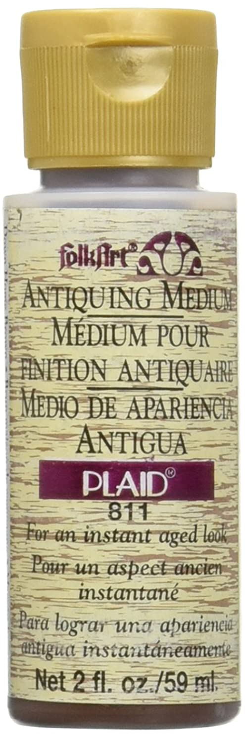 FolkArt Antiquing Medium (2-Ounce), 811 Down Home Brown